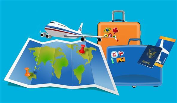 ilustracija putovanja svijetom